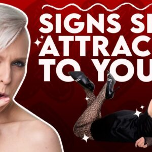 3 Things Your Woman Does When She's Highly Attracted To You | Sex and Relationship Coach | Caitlin V