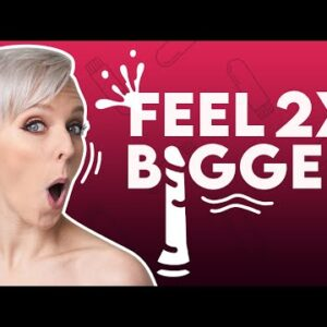 Make Your Penis FEEL 2 TIMES BIGGER During Sex | Sex and Relationship Coach | Caitlin V
